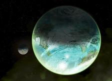 Orbital view of Inglesmond II and Martim Vaz
