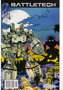 Blackthorne BattleTech comic #3
