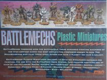 Back cover showing painted examples of the miniatures contained in the box