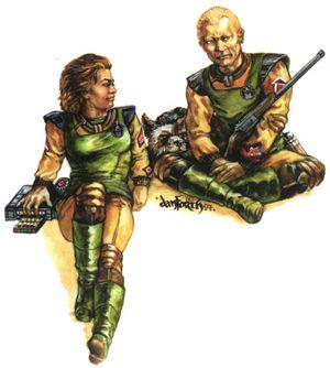 Myndo Waterly Battletech CCG Mercenaries Command
