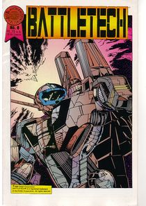 Blackthorne BattleTech comic #6