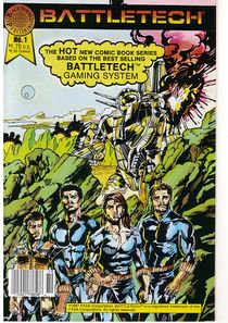 Blackthorne BattleTech comic #1
