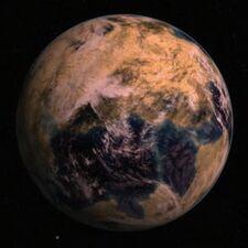 Orbital view of Ovan