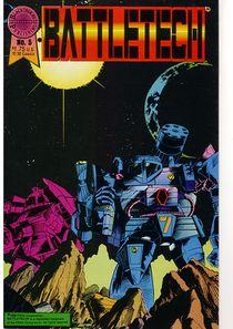 Blackthorne BattleTech comic #5